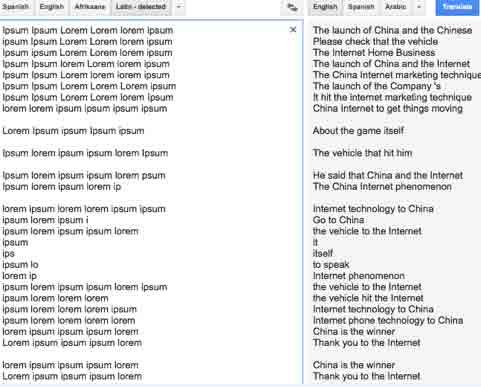 Der Fall Lorem Ipsum Die Cia Und Google Translate Lover Ipsum